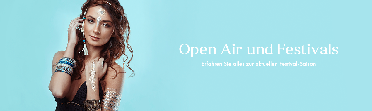 Open Air und Festivals