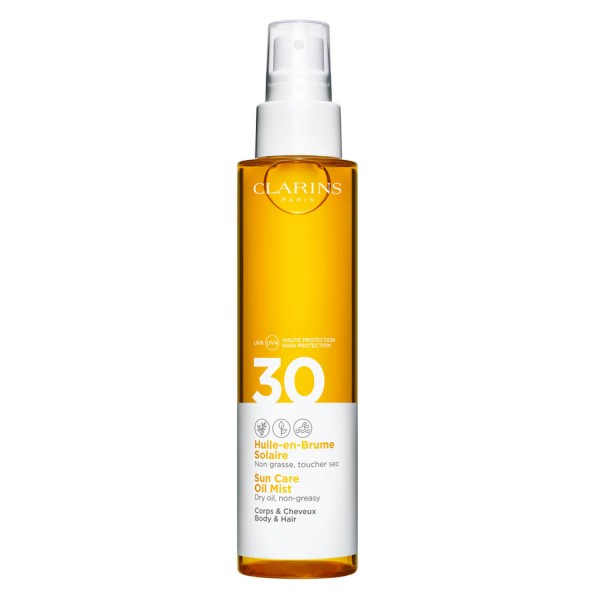 Clarins Sun - Sun Care Oil Mist Body & Hair SPF30