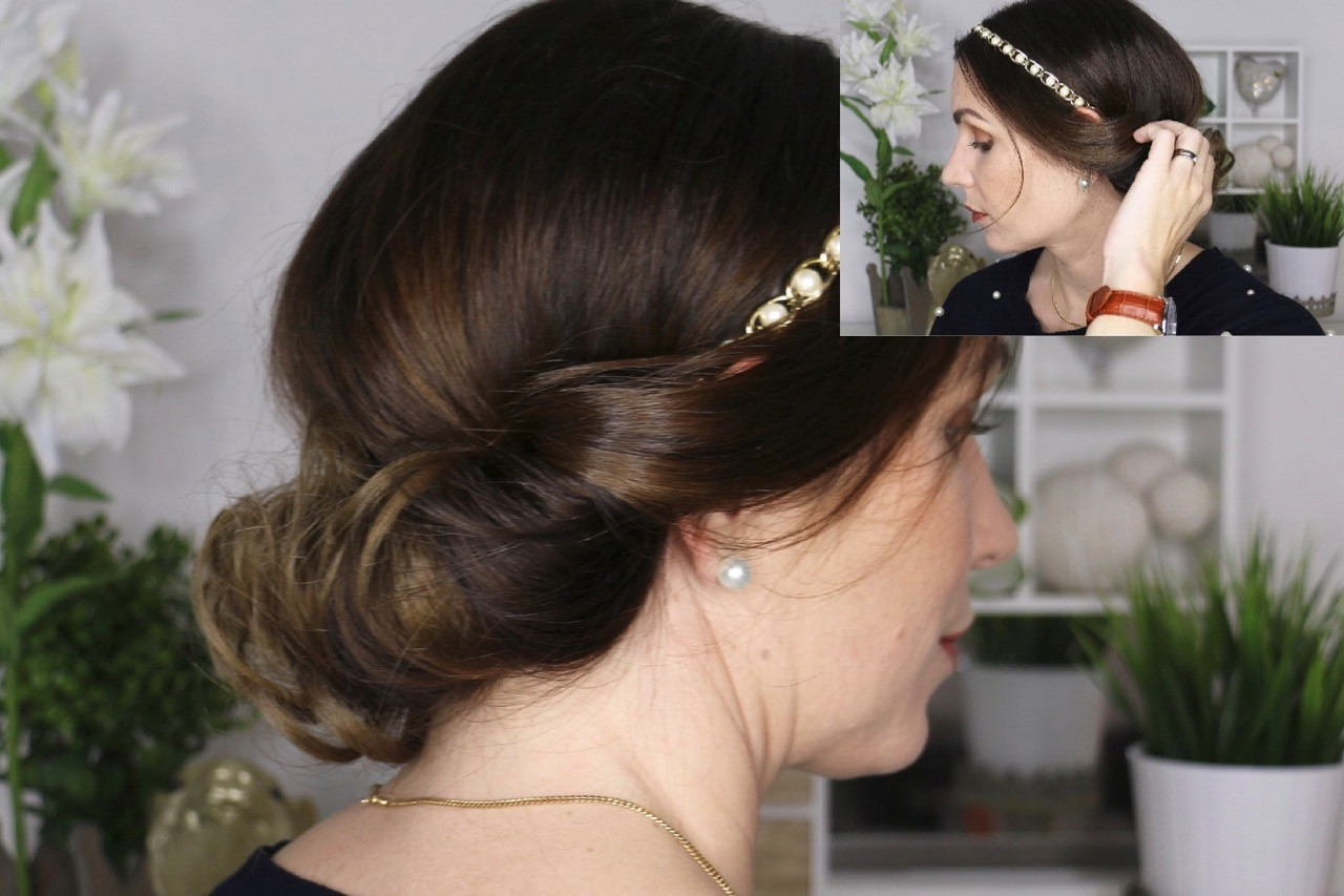 Festliche Haarband Frisur Perfecthairch