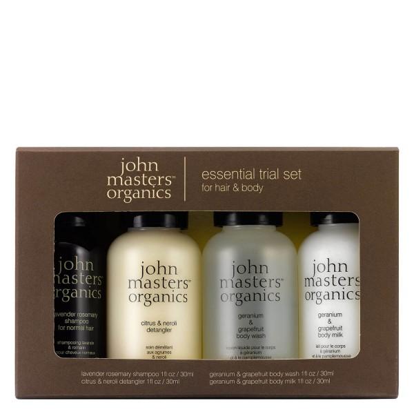 JMO Hair Care - Essential Trial Set