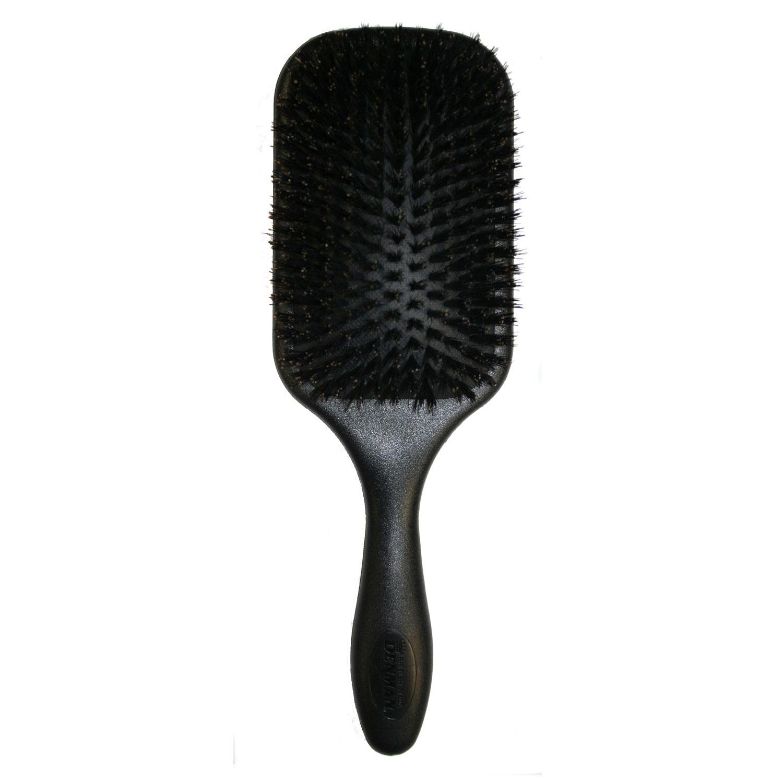 Denman Large Paddle Brush Natural Boar Bristle D83