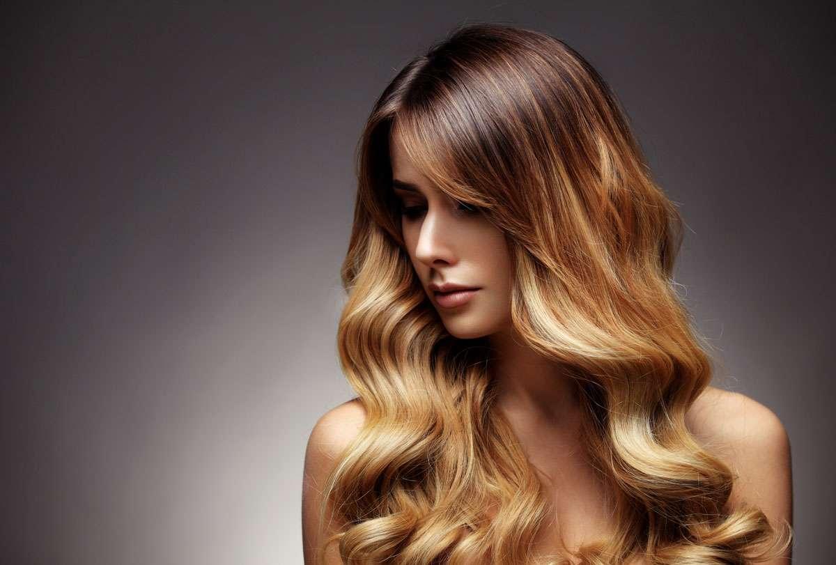 Two-tone-haarfarbe