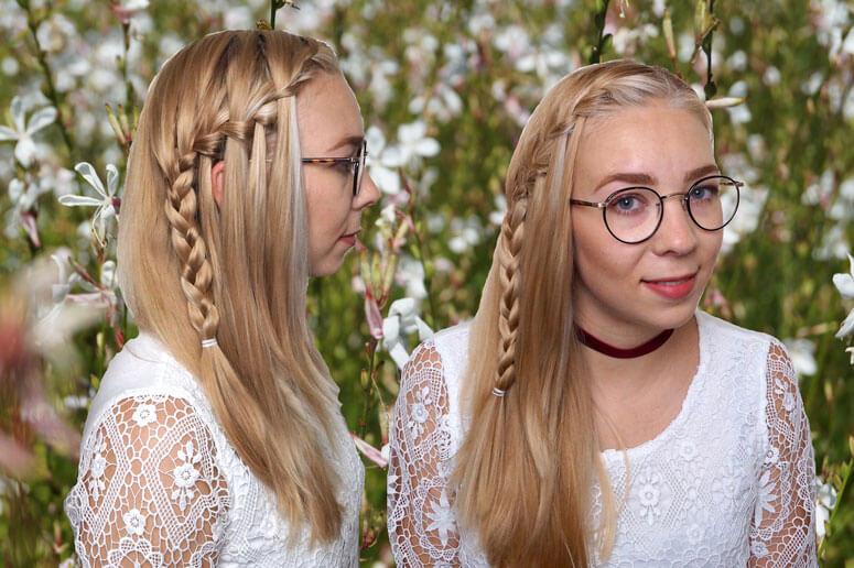Hair Tutorial Wasserfall Zopf Perfecthair Ch