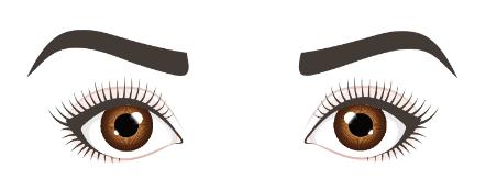 Runde-Augen