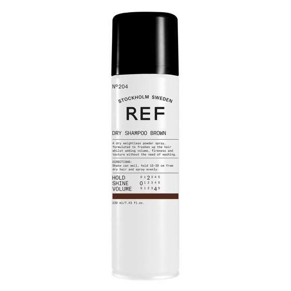 REF Shampoo - Brown Dry Shampoo 204  161fc646ca