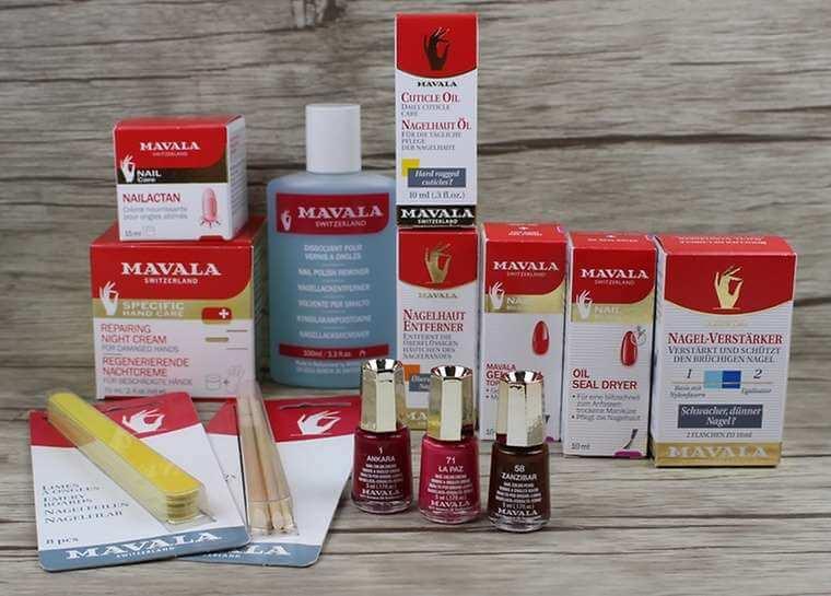 Maniküre mit mavala produkten perfecthair.ch