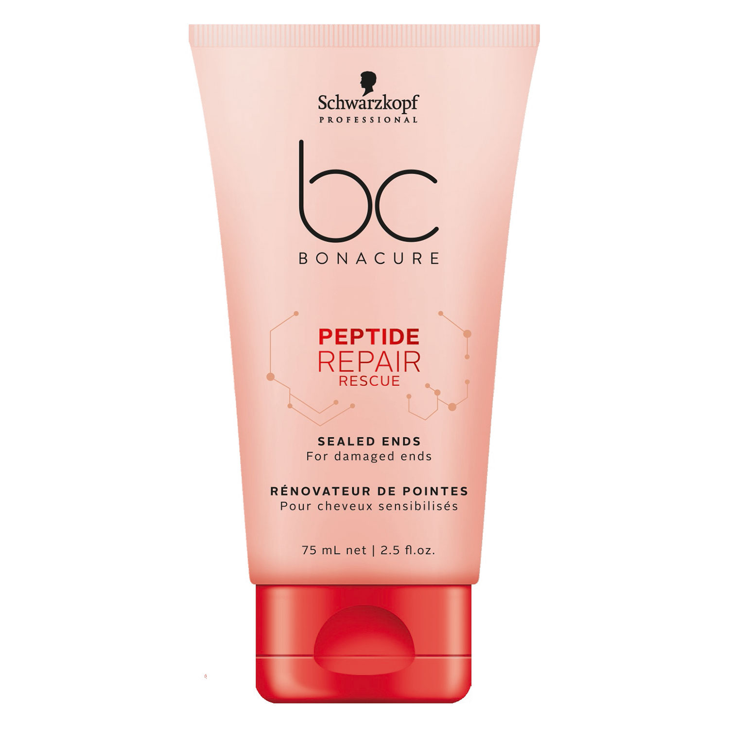 BC Peptide Repair Rescue - Sealed Ends - 75ml