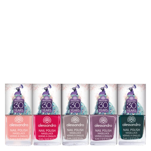 Image of alessandro 30 YEARS Nail Polish Geschenk