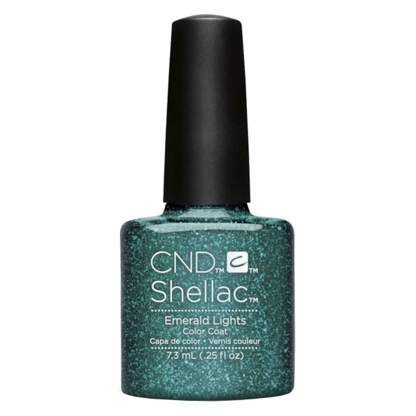 Shellac - Color Coat Emerald Lights