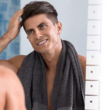 Body care for men