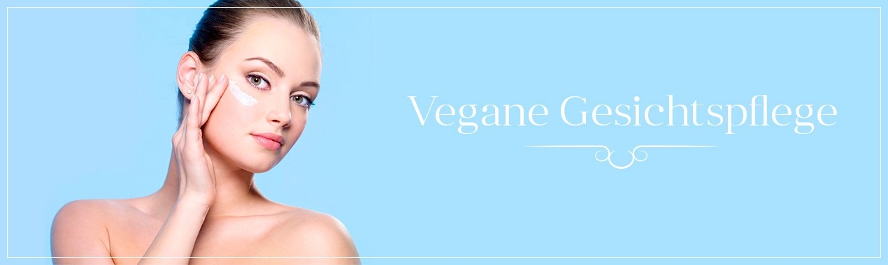 Vegane Gesichtspflegeprodukte