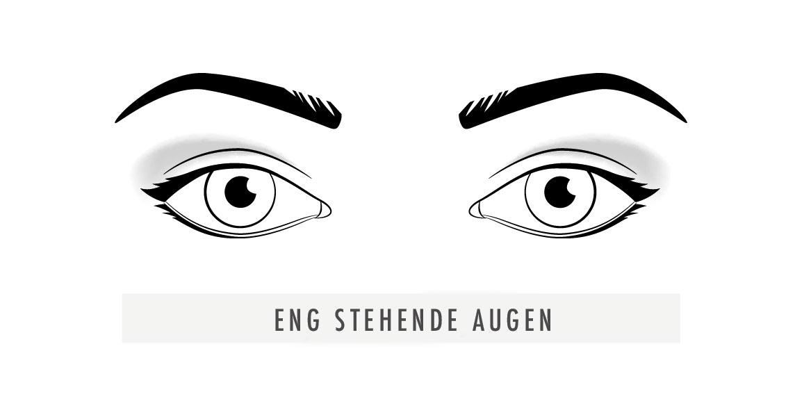 Eng-stehende-Augen