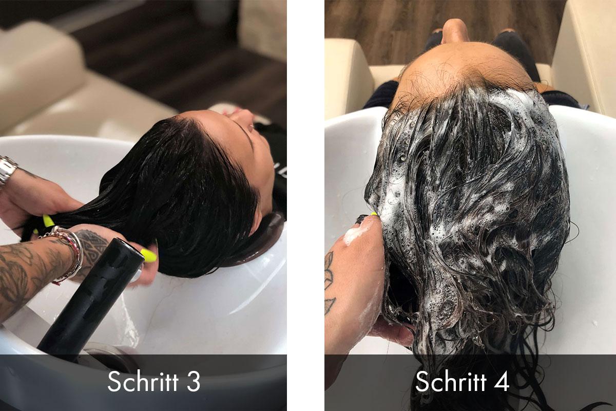Salon-Behandlung
