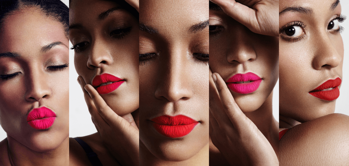 Knalliger-Lippenstift