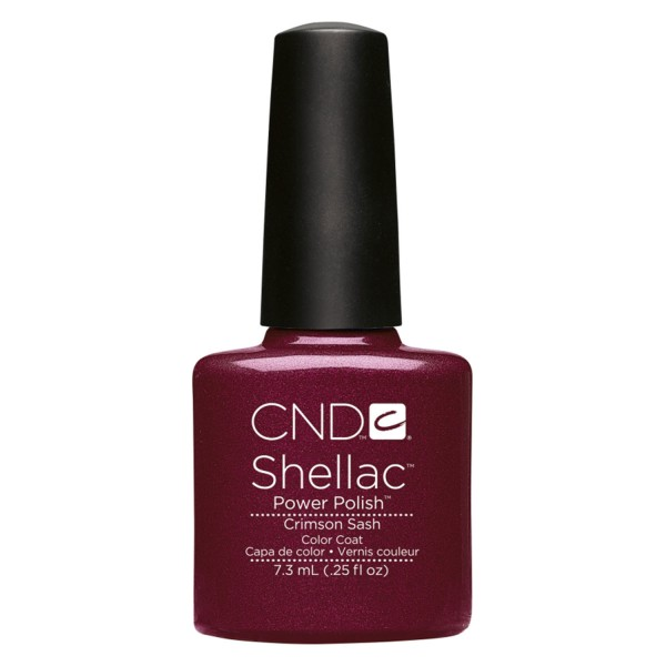 Shellac - Color Coat Crimson Sash
