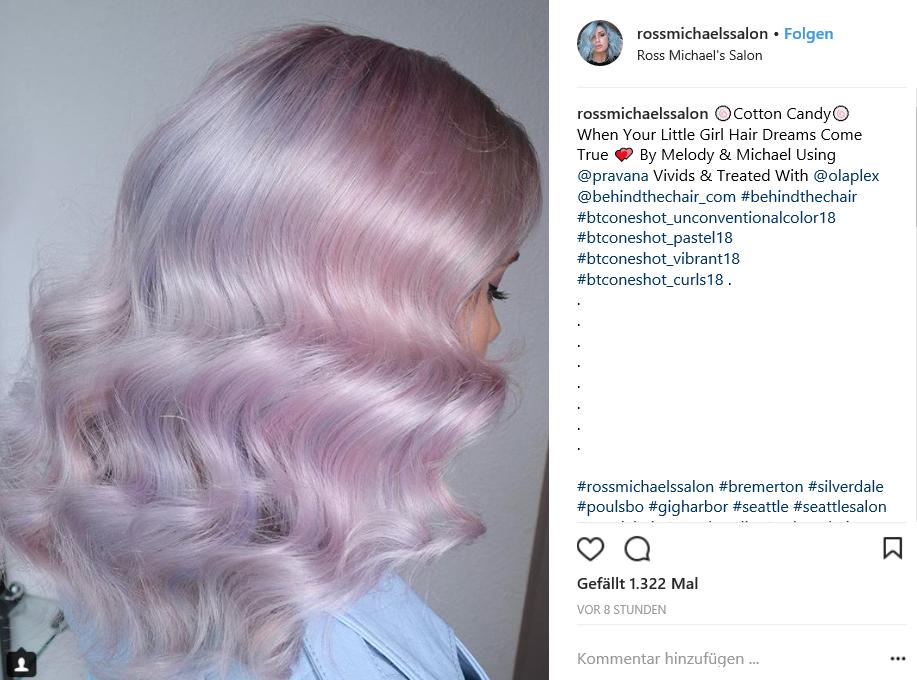 Pastel Hair Rosa Blau Oder Peach Welche Farbe Passt Zu Ihnen