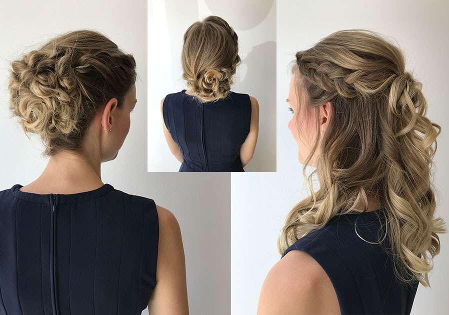 Wir Testen Festliche Frisuren Aus Dem Salon Magazin Perfecthairch