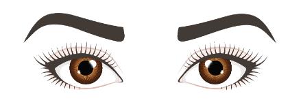 Nahestehende-Augen