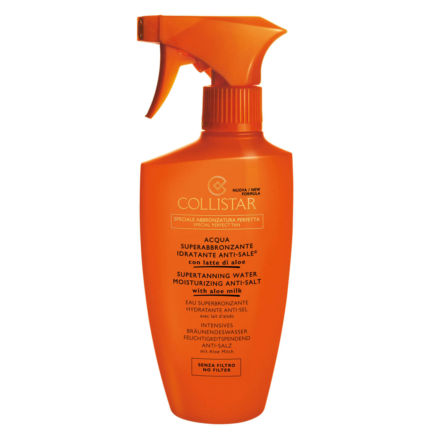 CS Sun - Supertanning Water Moisturizing Anti-Salt - 400ml