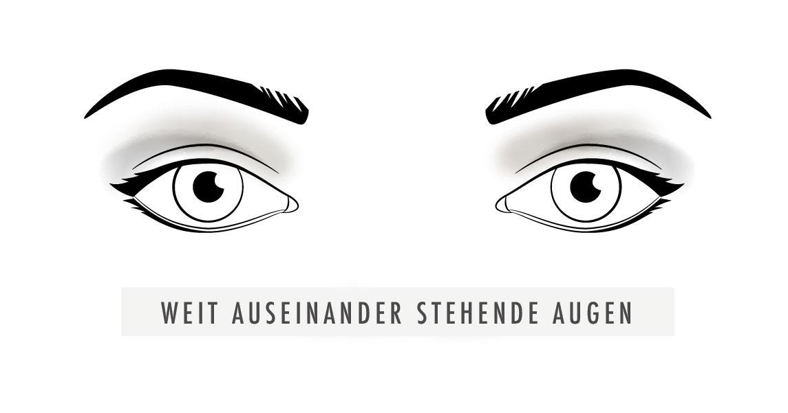 Weit-auseinander-stehende-Augen