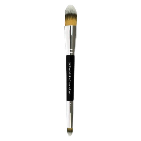 Glominerals - Brushes & Tools - Dual Foundation/ Camouflage Brush