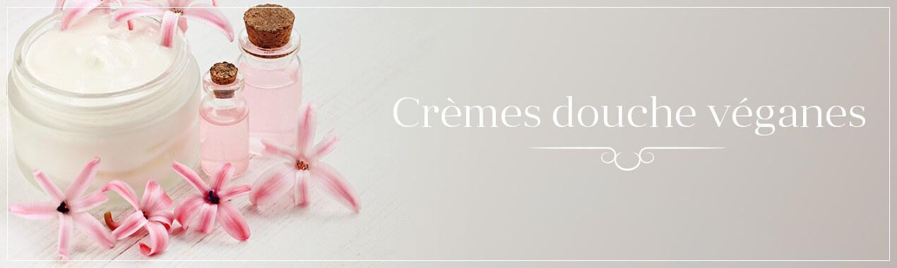Crèmes douche véganes