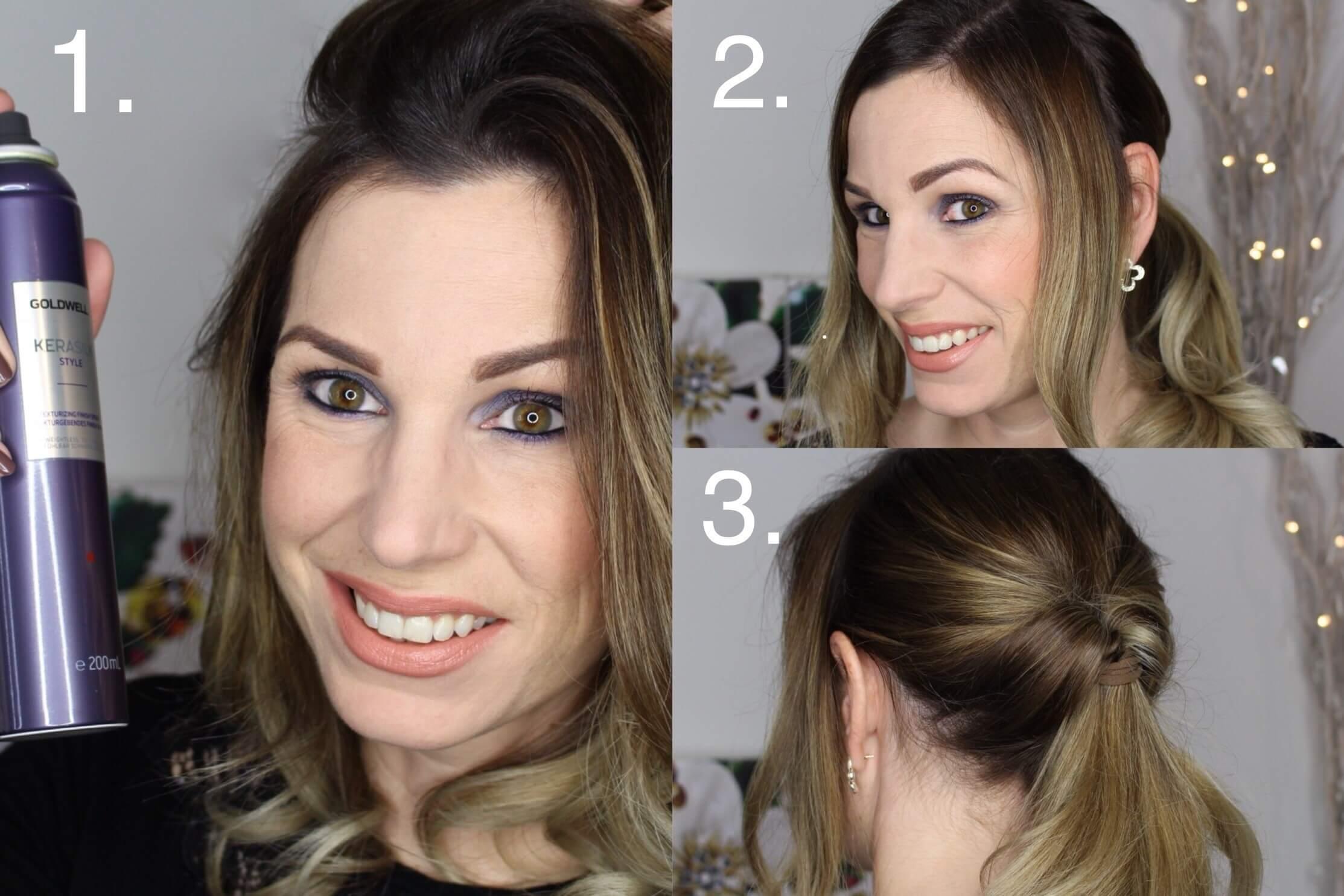 Christmas Styling Für Mittellange Haare Perfecthairch