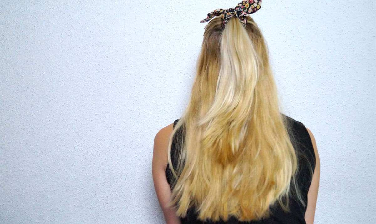 Blondes Haar So Pflegen Sie Es Richtig Perfecthairch