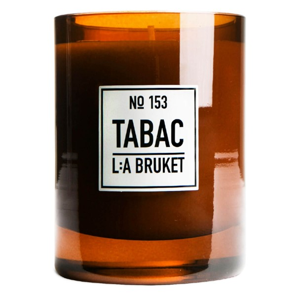 L:A Bruket - No.153 Scented Candle Tabac