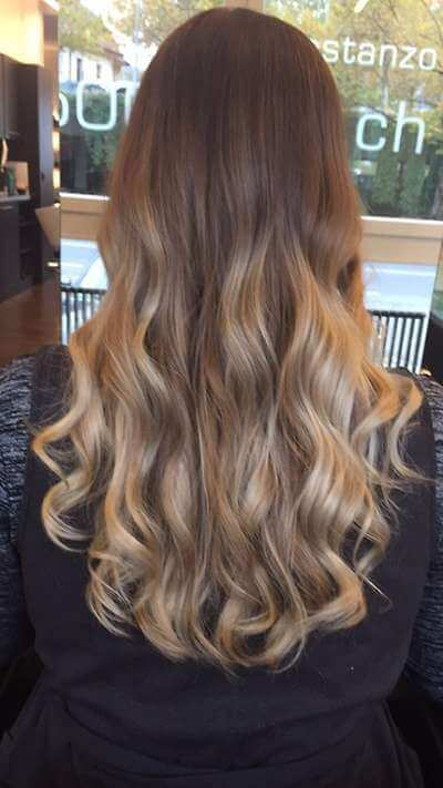 ombre hair selber f rben diy balayage ombre hair tutorial. Black Bedroom Furniture Sets. Home Design Ideas