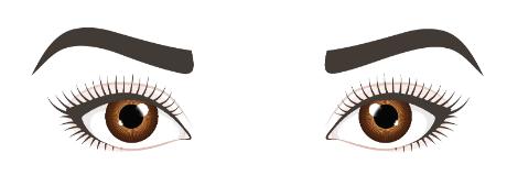 Auseinanderstehende-Augen