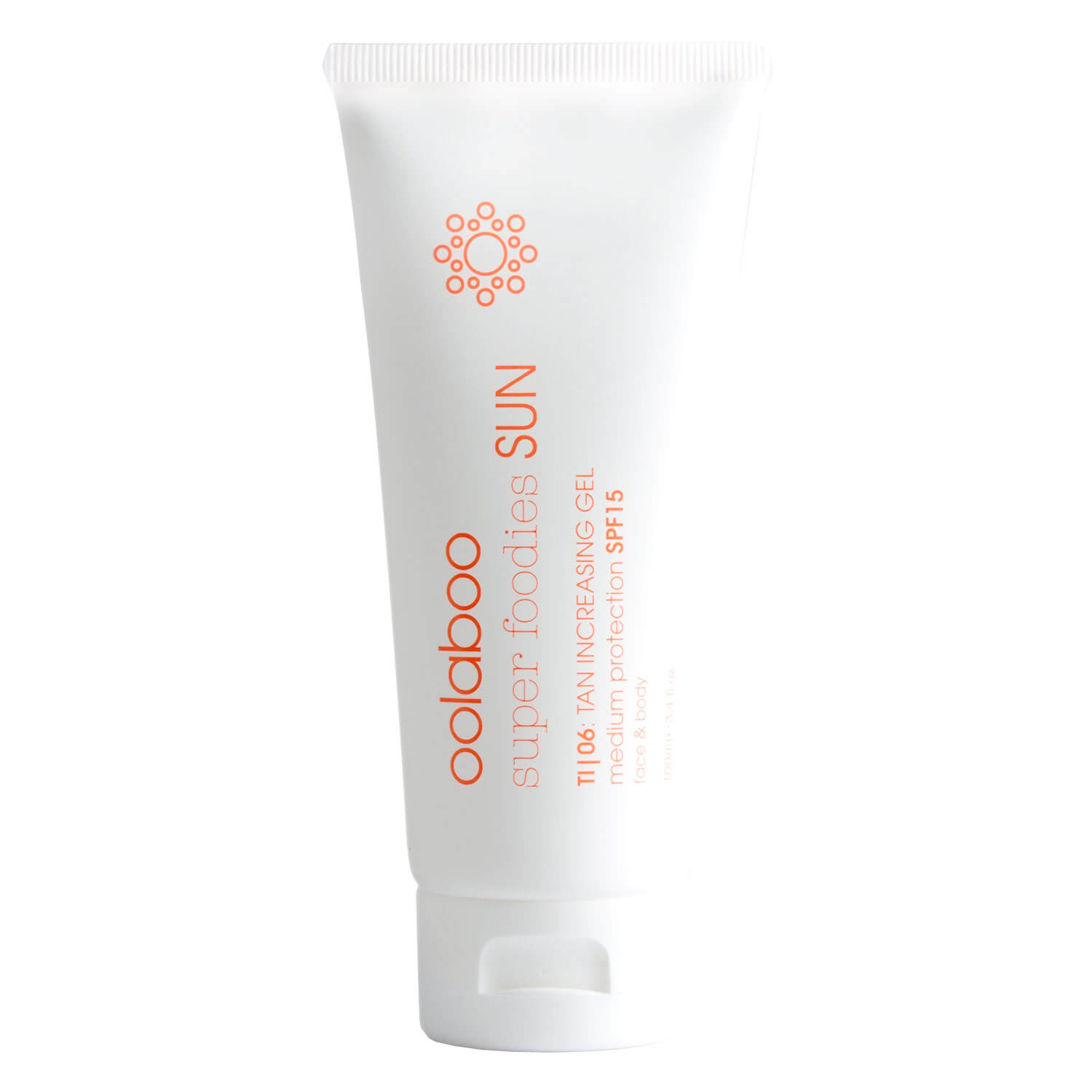 super foodies - sun tan increasing gel spf15 - 100ml